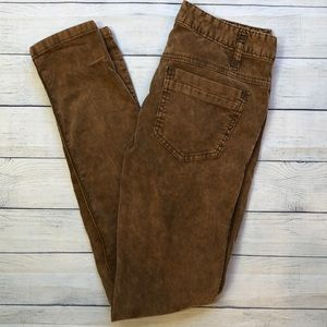 Free people brown /tan Corduroy pants